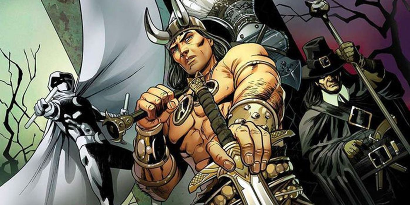Conan's Dark Agnes, Solomon Kane Make Marvel Debut in Serpent War
