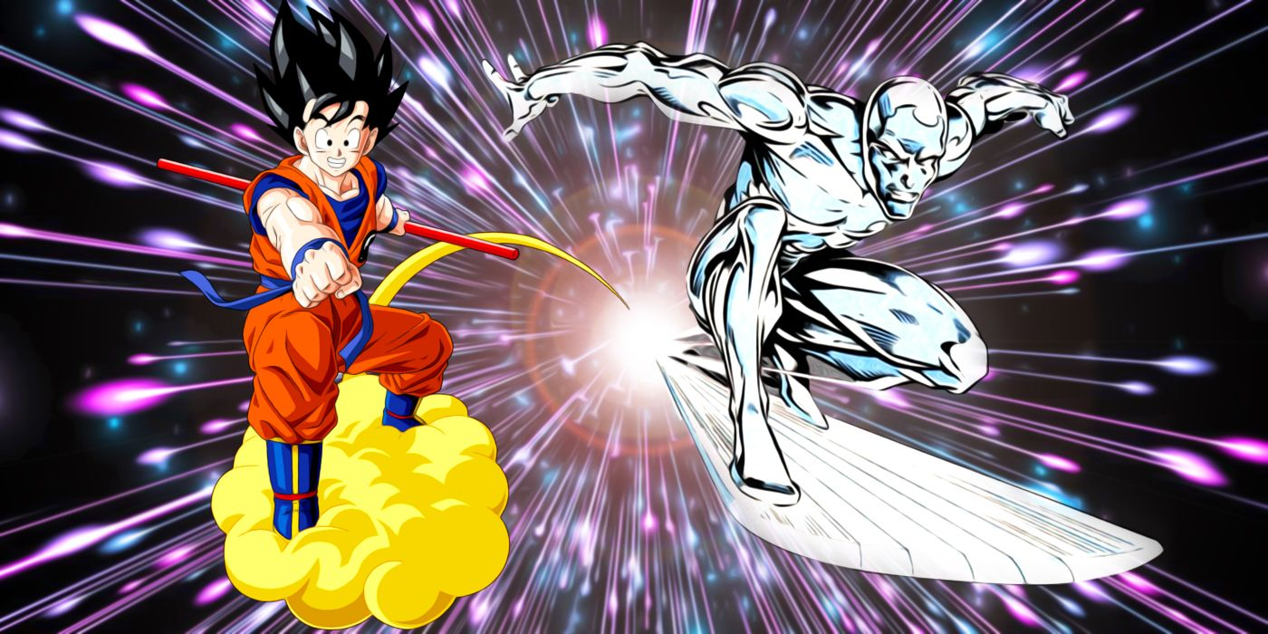 Silver Surfer Just Stole Goku's Most Powerful Dragon Ball Z Attack