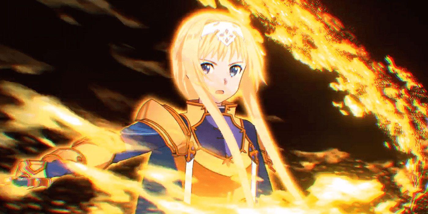 Sword Art Online Alicization Lycoris Just Dropped An Amazing Trailer