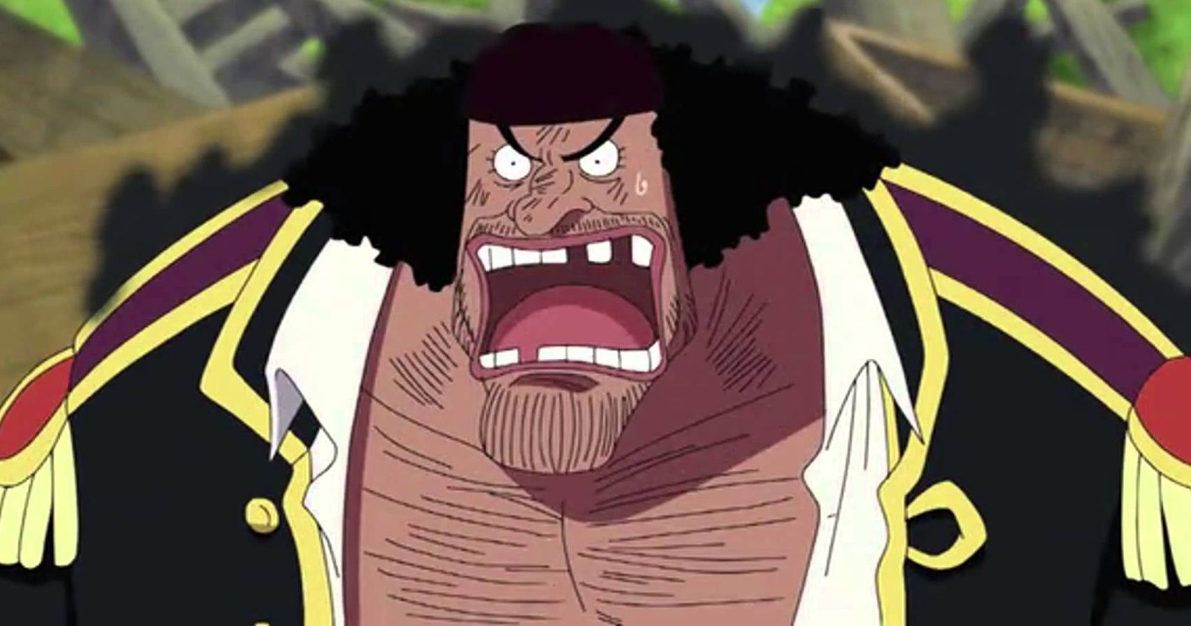 One Piece Blackbeard