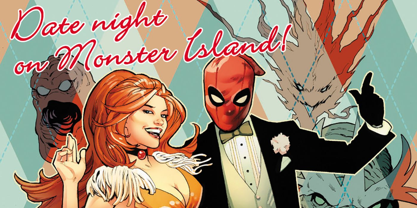 Deadpool Teaser Variant Invites You to a Date on Monster Island