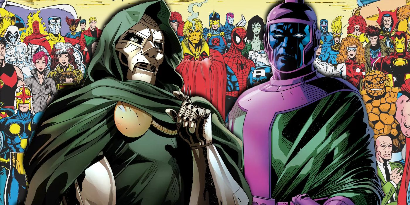 Doctor Doom & Kang Are Bound Together by... The Infinity War?
