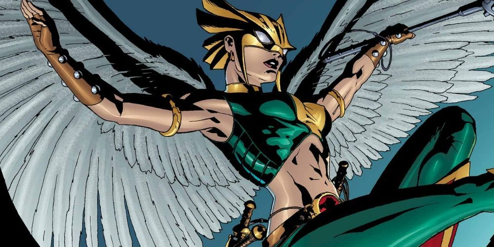 Hawkgirl Has a Major Role in Bendis' Legion of Super-Heroes, Superman