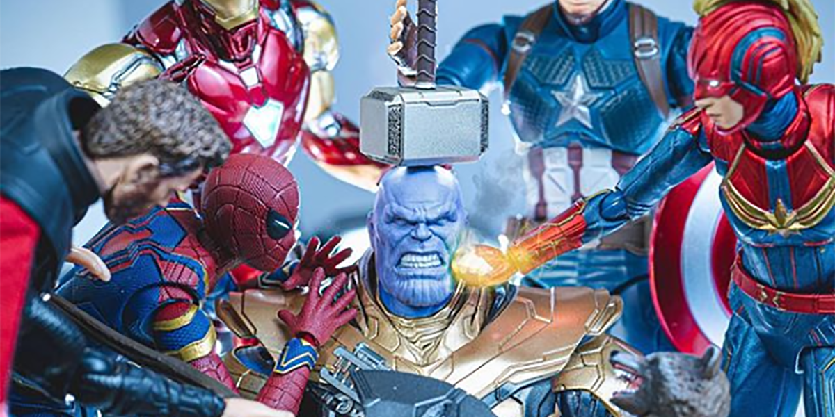 Avengers: Endgame Action Figures Come Alive in Impressive Photos