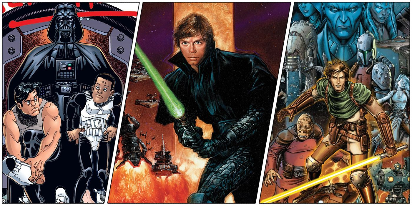 Non Canon 10 Best Star Wars Legends Graphic Novels Ranked Cbr