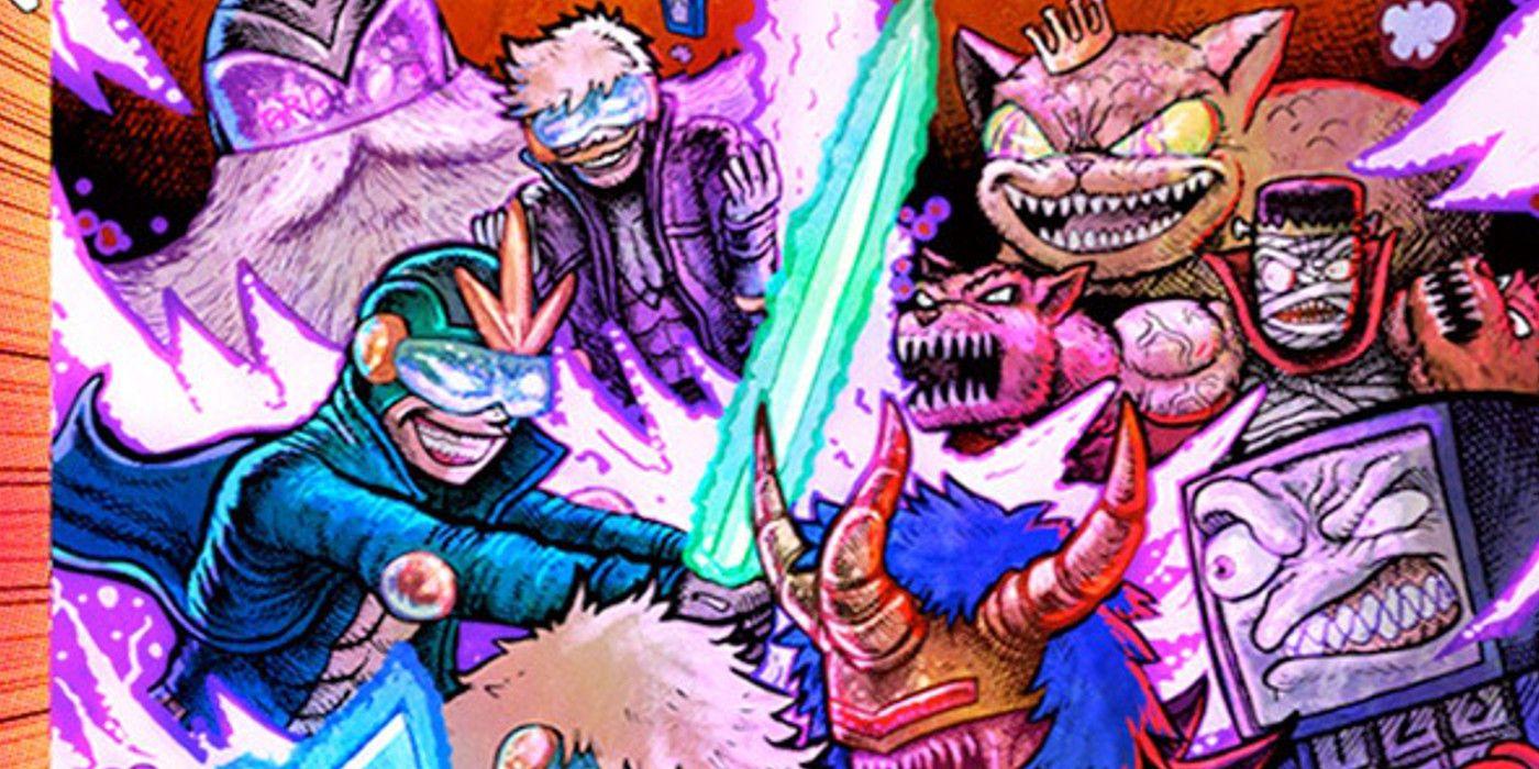 Task Force Rad Squad Comic Hits Like Punk Rock Power Rangers