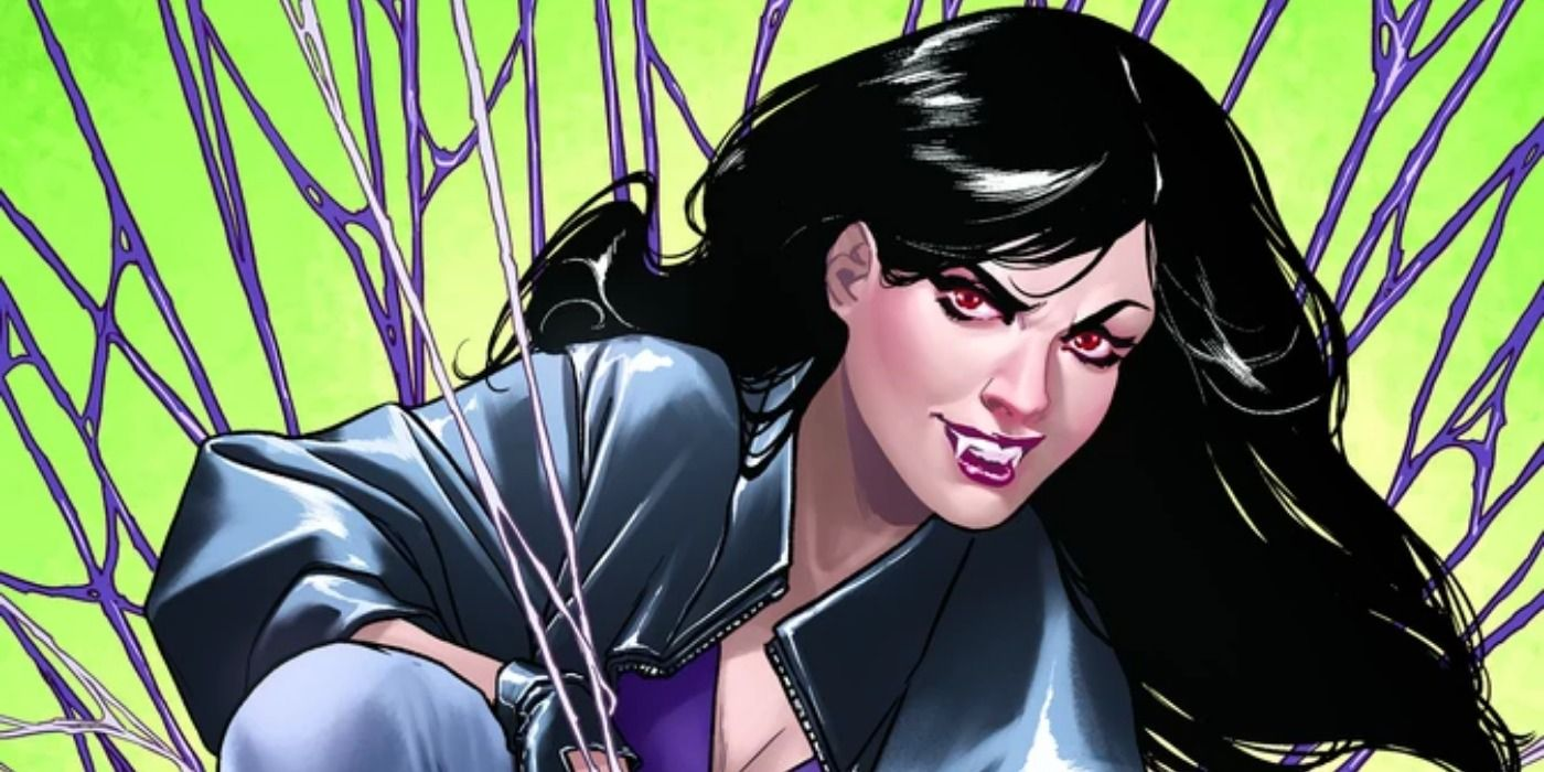 Vampironica: New Blood Variant Pays Homage to McFarlane's Spider-Man