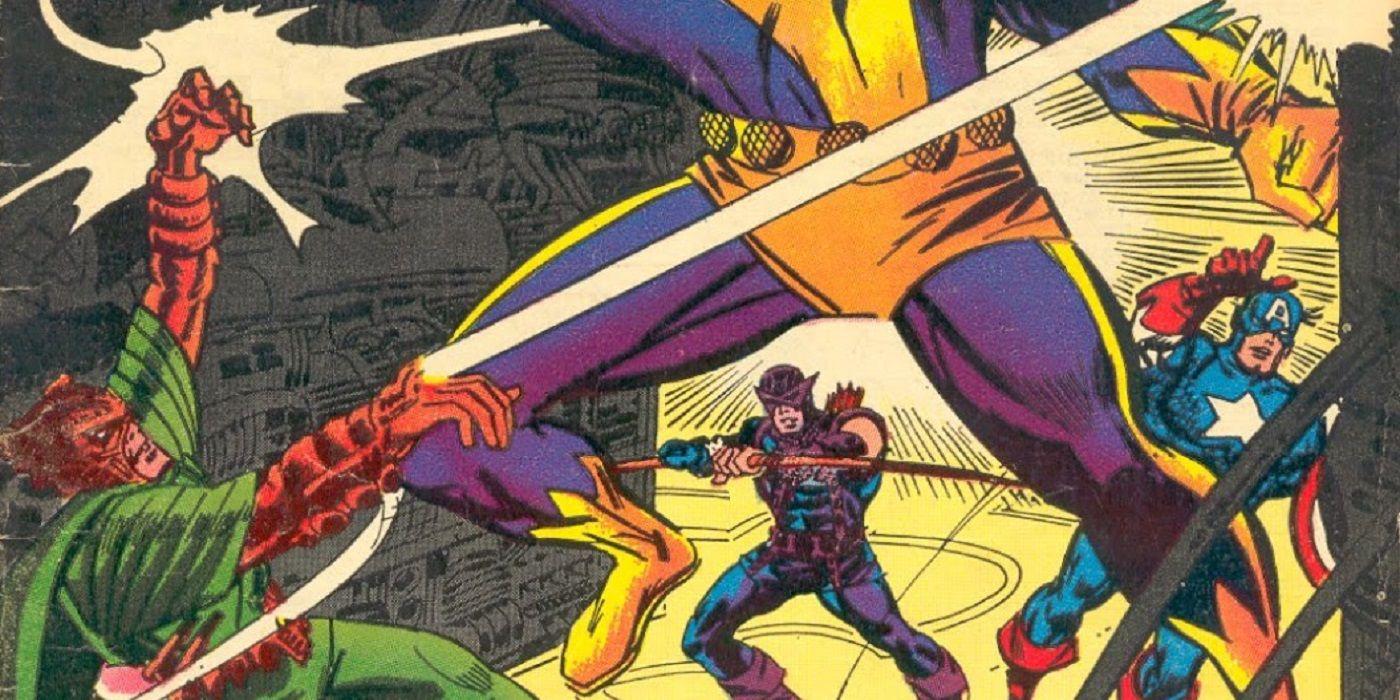 Stan Lee Leaves the Avengers As the Living Laser Arrives! | CBR