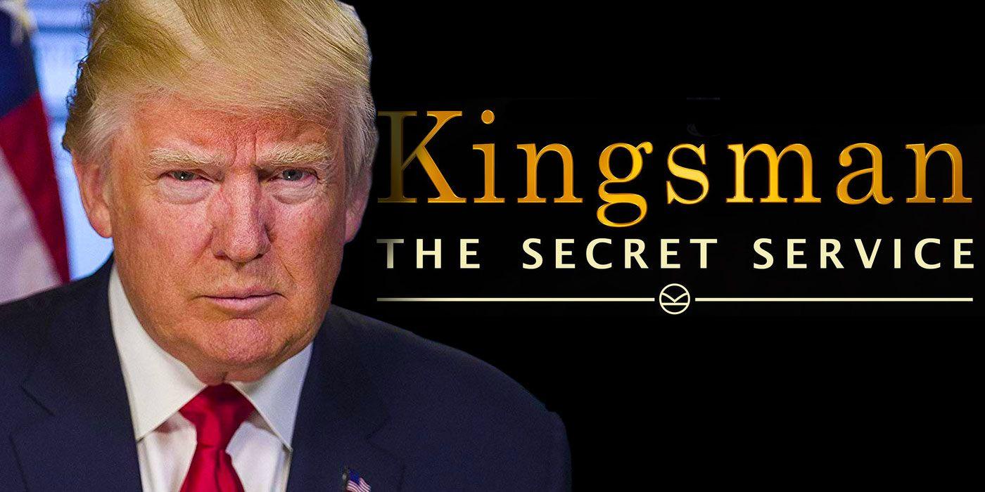 Pro-Trump Event Shows Edited Kingsman Video with Trump Killing 'Enemies'
