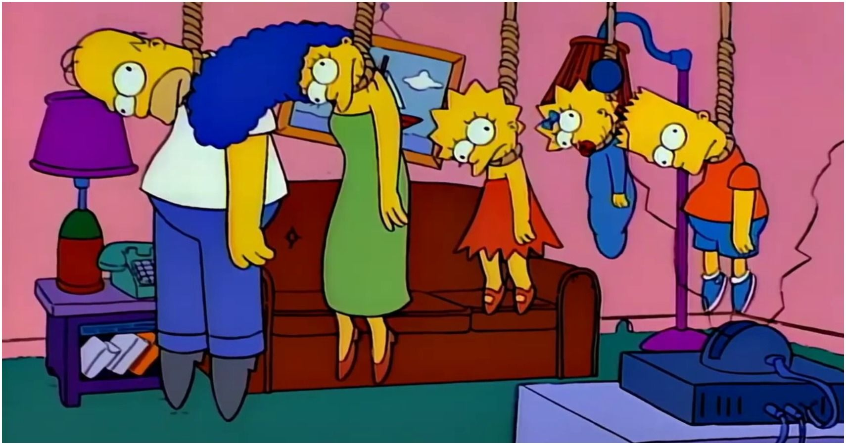 The Simpsons 10 Treehouse Of Horror Skits That Are Way Too Dark