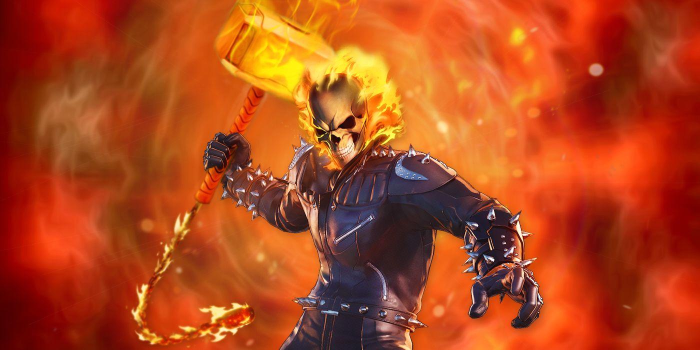 Ghost Rider's Hell Hammer is Way Bigger Than Thor's Mjolnir   CBR