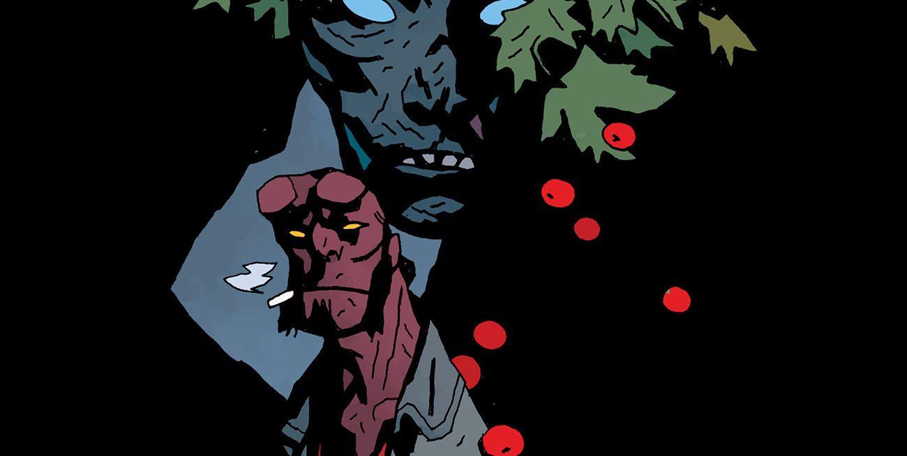 EXCL.: Hellboy Returning in New Winter Special, Mignola's Cover Revealed