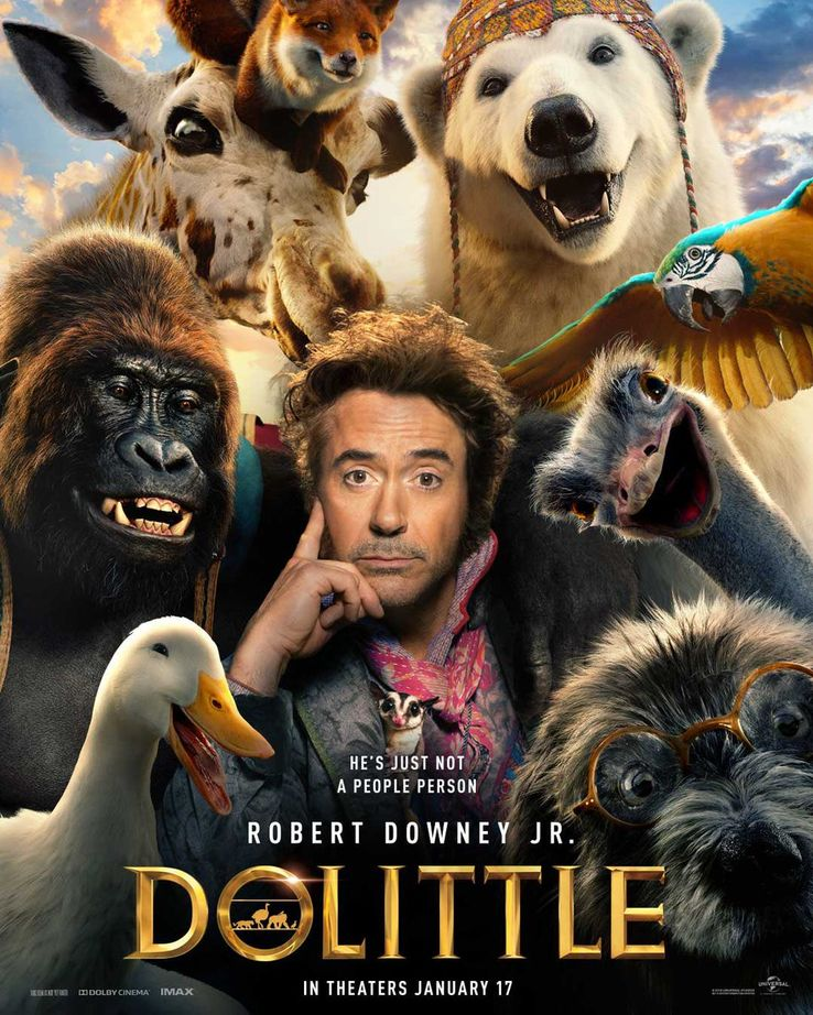 Image result for robert downey jr doctor dolittle