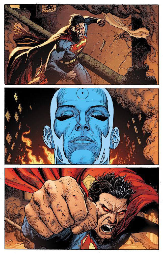 DC Comics Doomsday Clock Watchmen Superman Doctor Manhattan