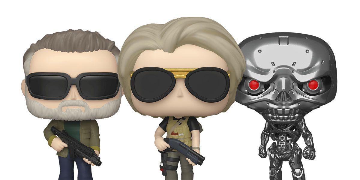 Terminator Dark Fate Gets The Funko Pop Treatment Cbr