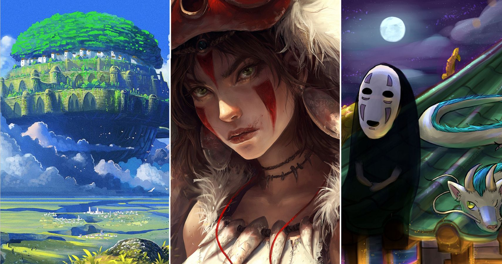 Studio Ghibli: 10 Amazing Works Of Fan Art That We Love   CBR