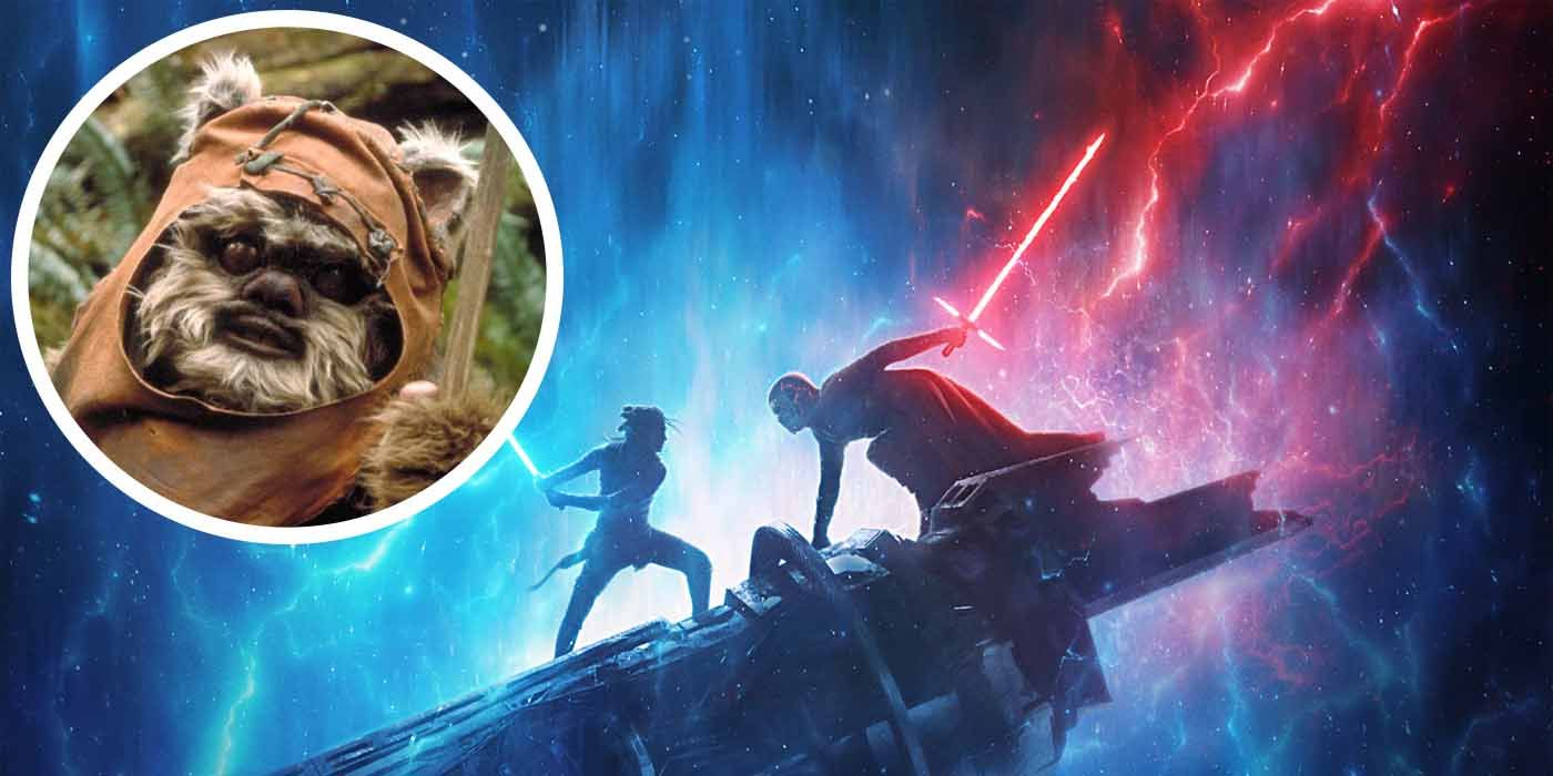 Warwick Davis Reveals the Identity of Rise of Skywalker's Second Ewok