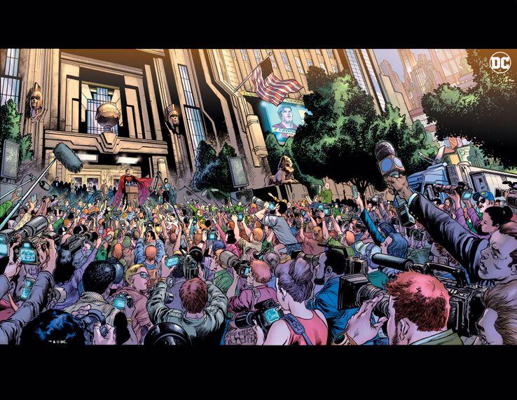 Superman  DC Comics Brian micheal Bendis