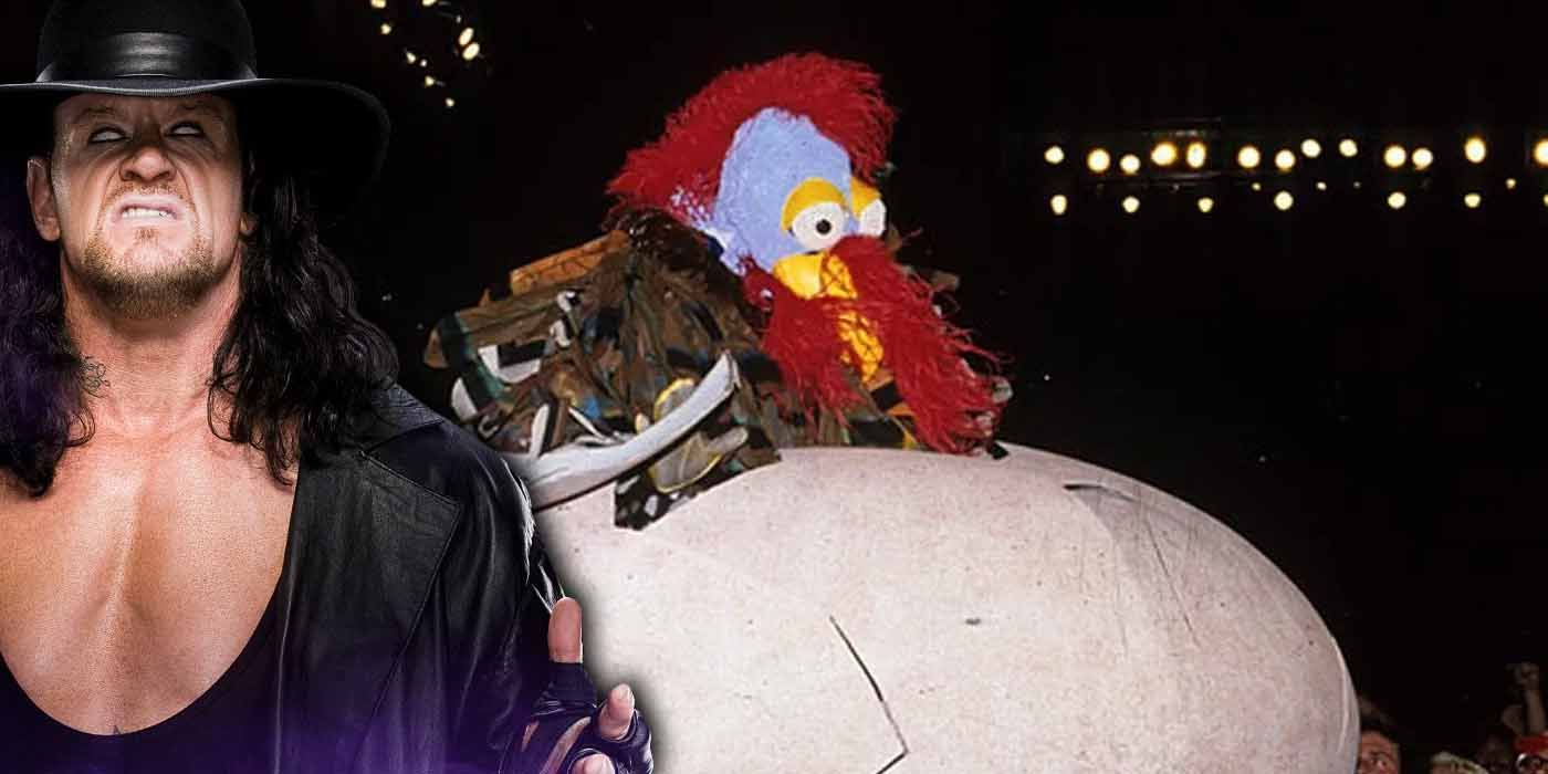The Undertaker Was Convinced He Was Going to Debut as the Gobbledy Gooker