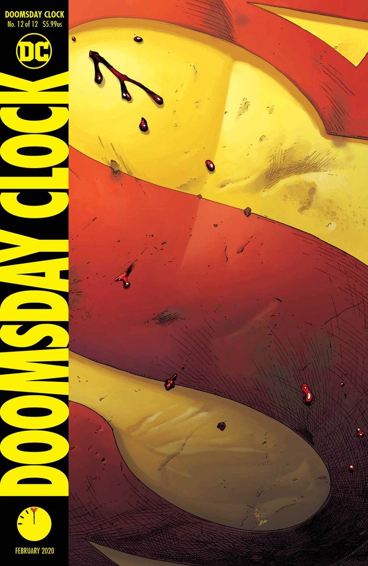 Doomsday Clock DC Comics Watchmen Superman DR Manhattan Geoff Johns Gary Frank