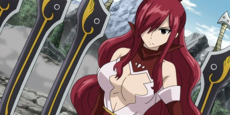Erza Scarlet Strongest Anime Female Characters animeinterface