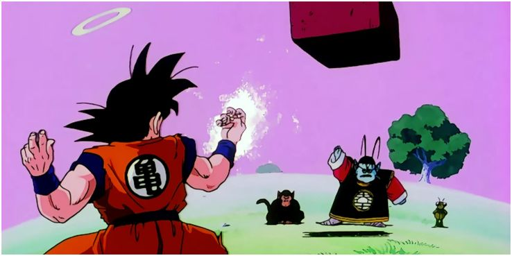 Post-mordem - Page 2 Goku-and-King-Kai-Train-To-Use-The-Spirit-Bomb