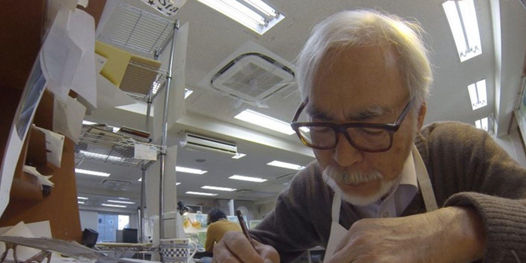 Miyazaki Redesigns Ghibli Museum's Menu in Surprise Visit | CBR