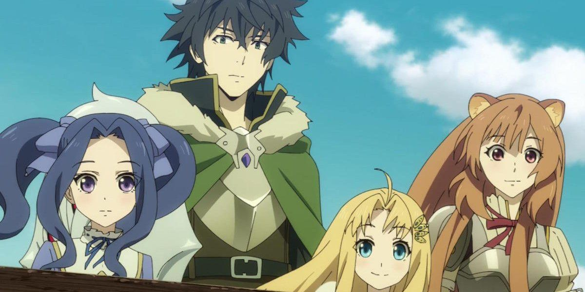 Rising Of The Shield Hero Anime