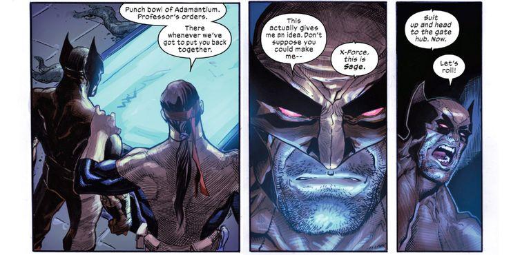 Wolverine X-Force Adamantium Vat