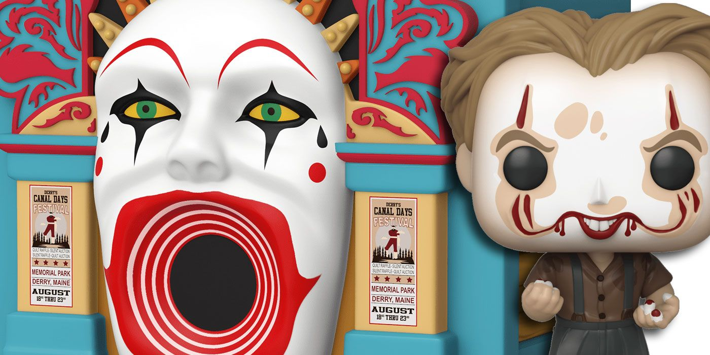 It: Chapter 2 Pop!s Include Pennywise's Funhouse | CBR