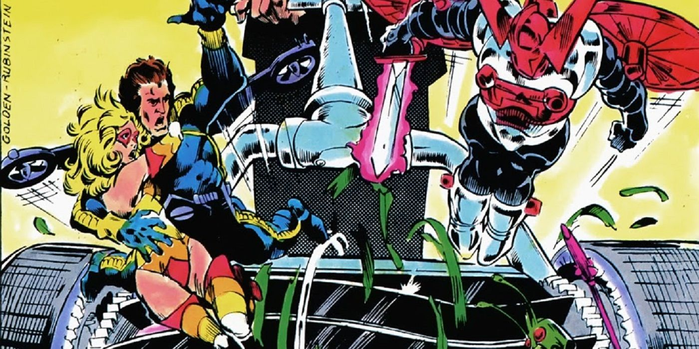 Michael Golden Didn't Know the Micronauts Would Be In the Marvel Universe