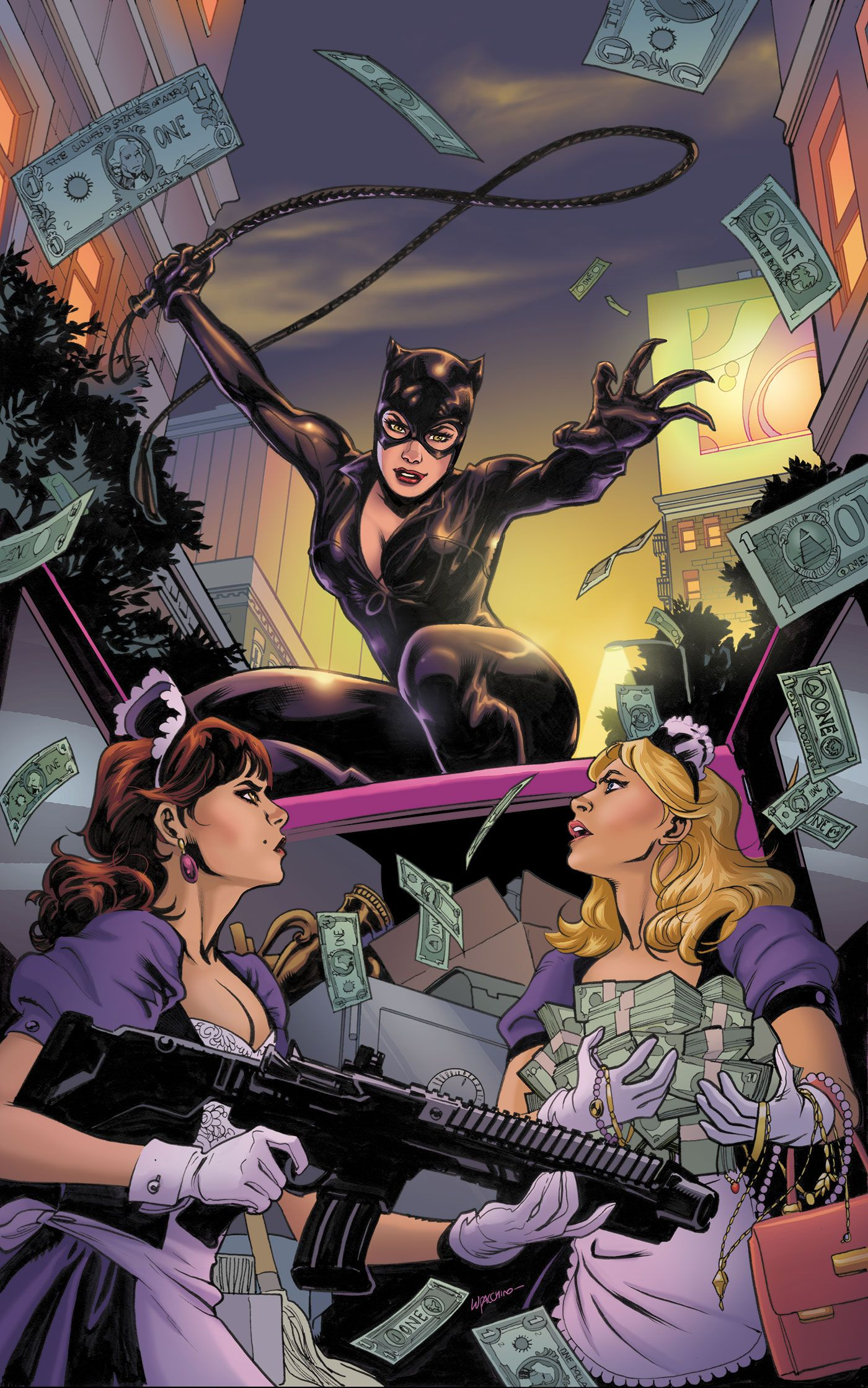 Batman #71 Frank Cho Variant Cat Woman DC Universe Comic 1st Print 2019 NM
