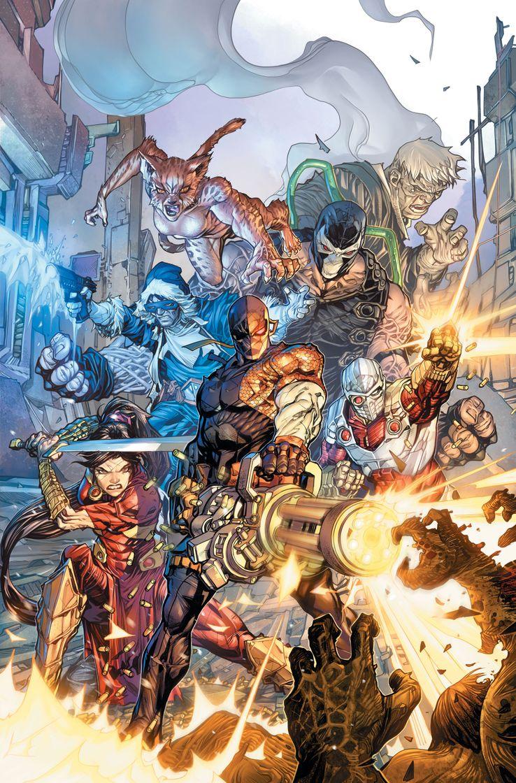 DC Comics Dceased Unkillables Deathstroke