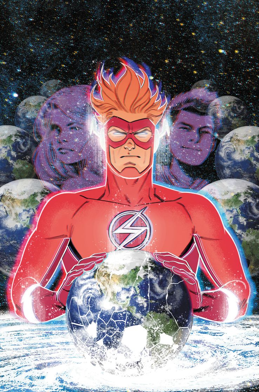 DC Comics Flash Forward Wally West Tempus Fuginaut