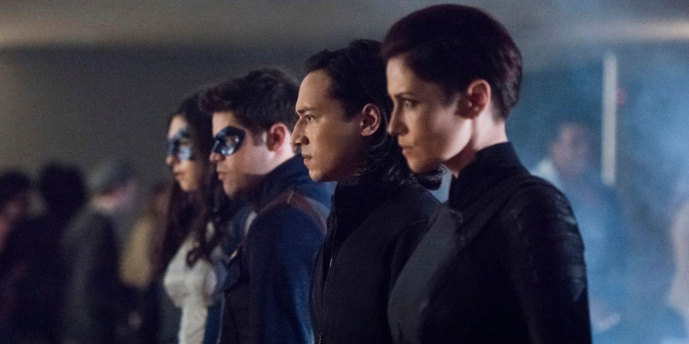 Supergirl Photos Reveal Winn's Legion of Super-Heroes Costume