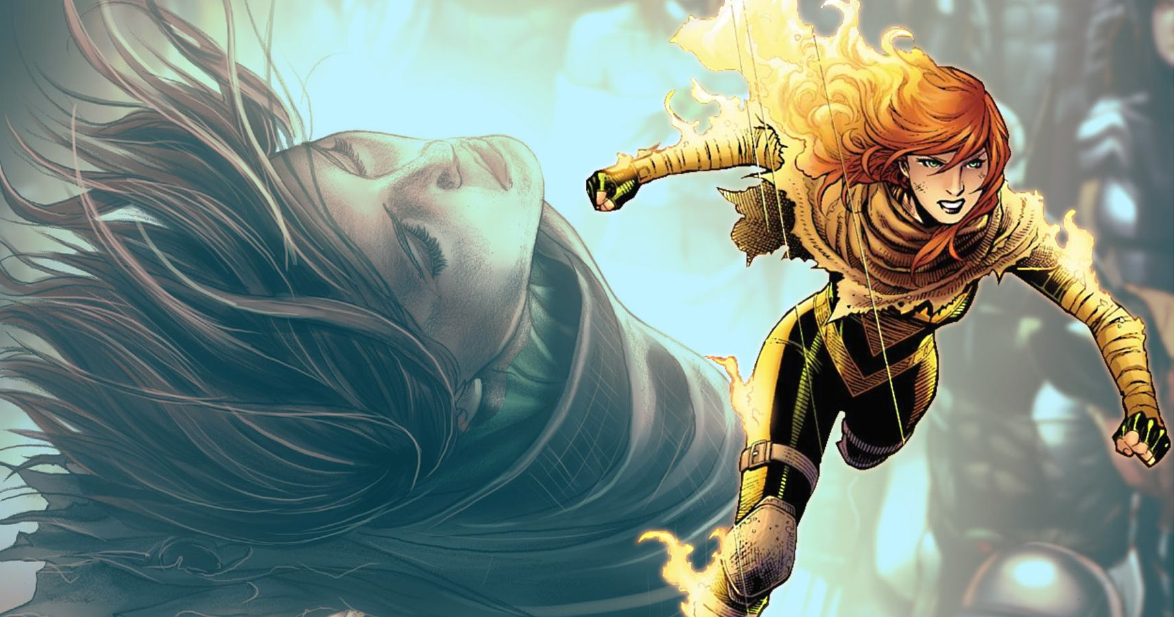 Hope Summers, one of the strongest members of the X-Force team.