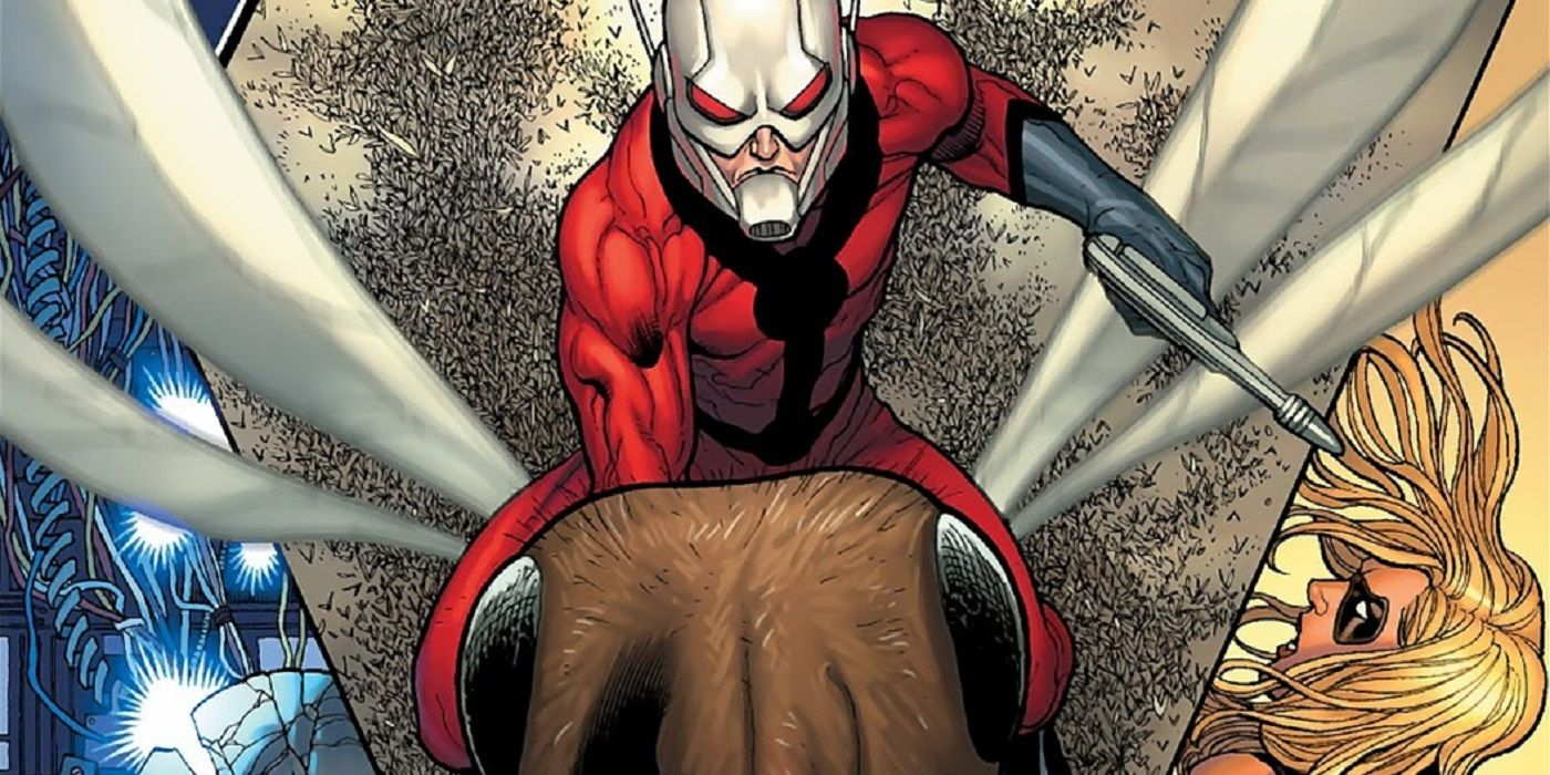 When Did Ant-Man First Start Riding Flying Ants? | CBR