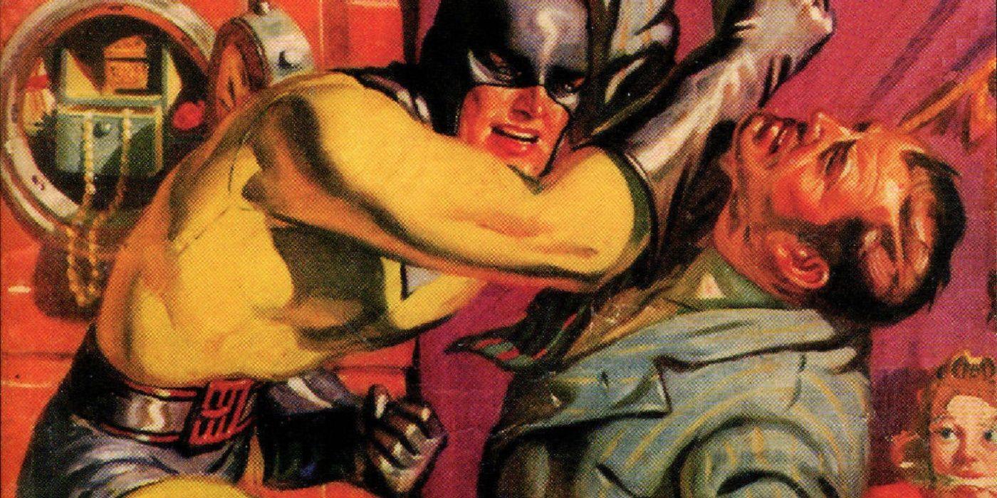 Comic Legends: The Comic Book Superhero Who Became a Pulp Fiction Hero!