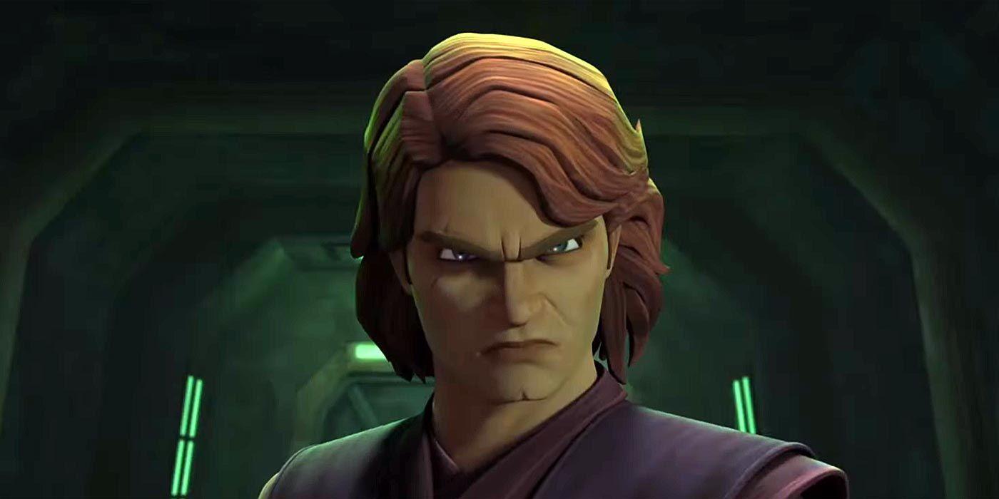 Star Wars: The Clone Wars - Anakin's Best Dark Side ...