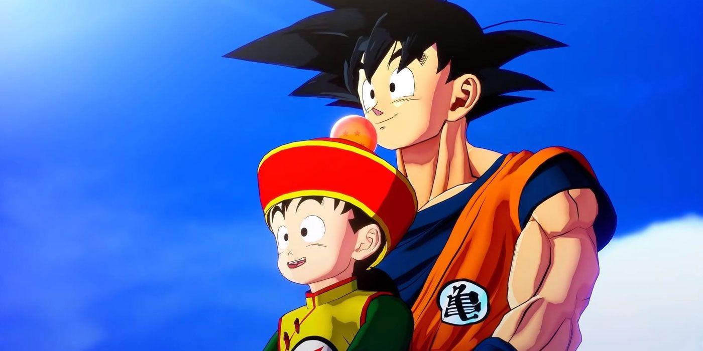 Dragon Ball Z: Kakarot FINALLY Makes Goku a Good Father | CBR