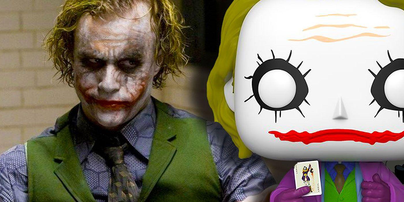 Heath Ledger's Joker Immortalized as Giant Funko Pop! in 2020
