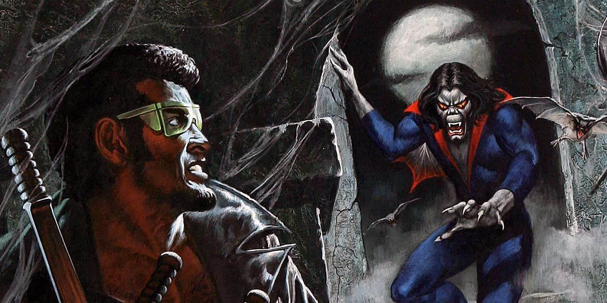 Morbius Vs. Blade: Who Is Marvel's Best Schlocky Vampire? | CBR