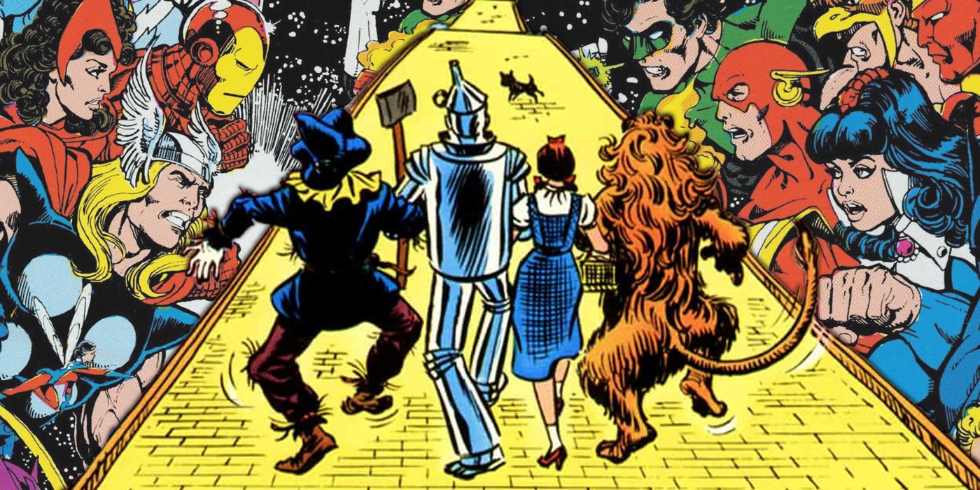 How The Wizard of Oz Brought DC & Marvel Together For Their First Crossover