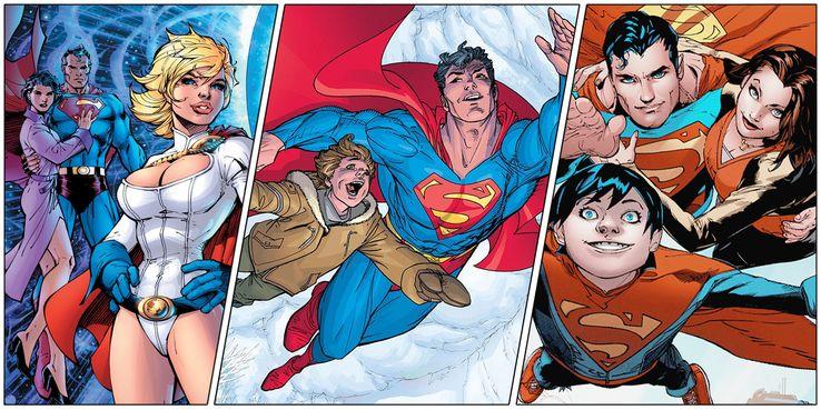 SUPERMAN AND LOIS Family - Los 10 momentos más románticos entre Superman y Lois Lane