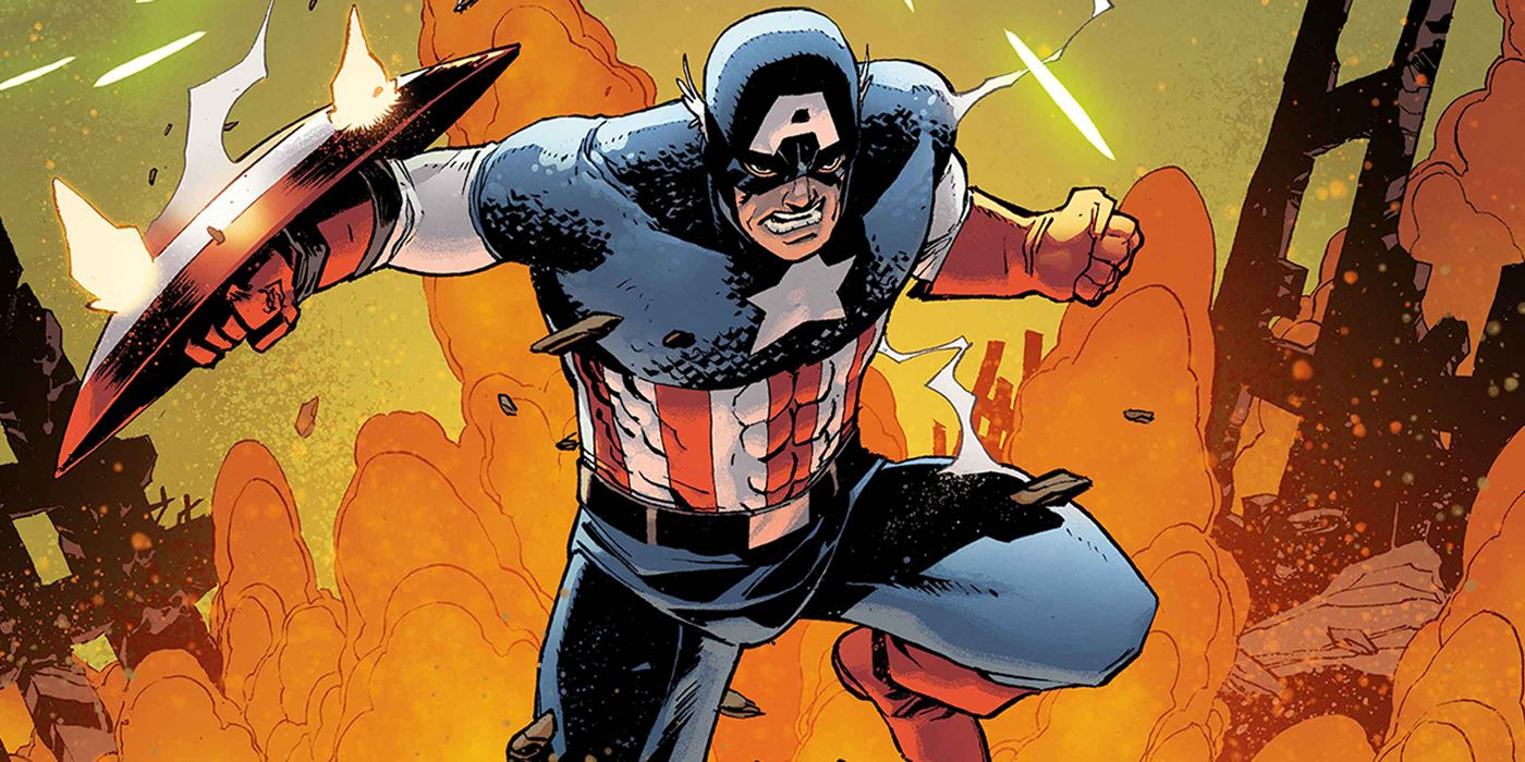 EXCLUSIVE: Captain America Returns to Military Roots for Marvel's Empyre