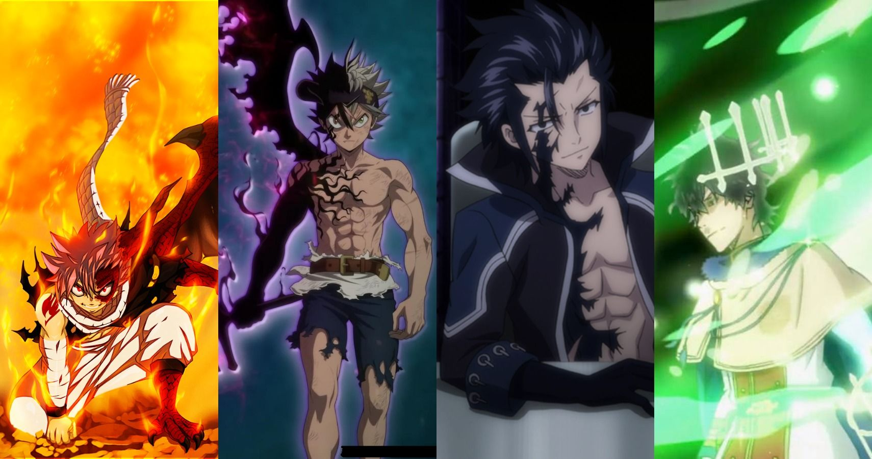 5 Similarities Between Fairy Tail And Black Clover (& 5 Differences)