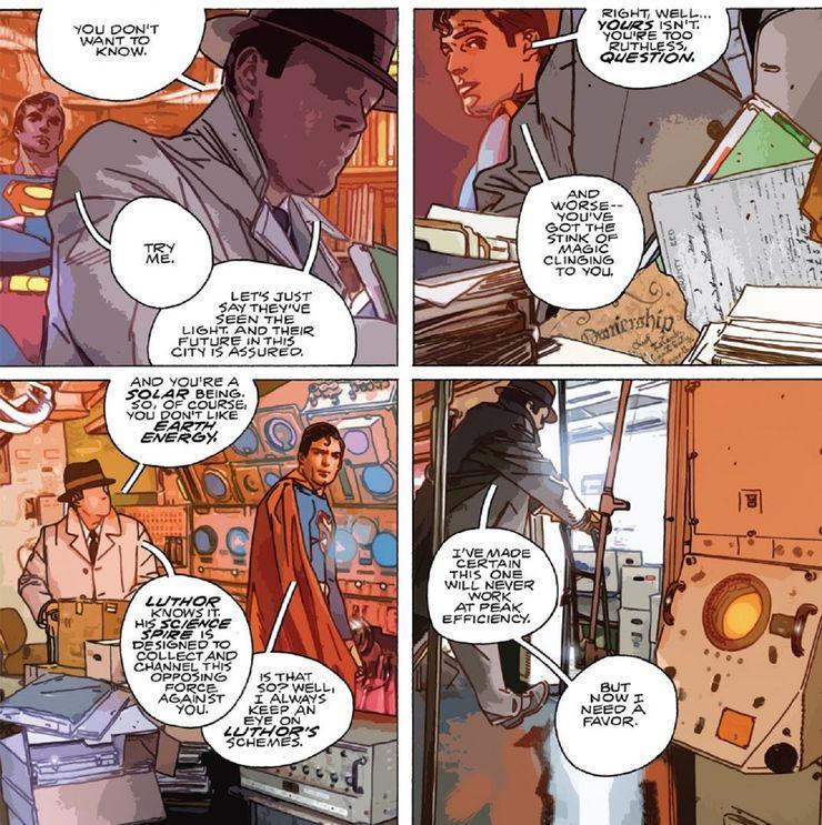 The Question and Superman 1 - El Superman Inmortal: ¿Puede el Hombre de Acero realmente morir alguna vez?