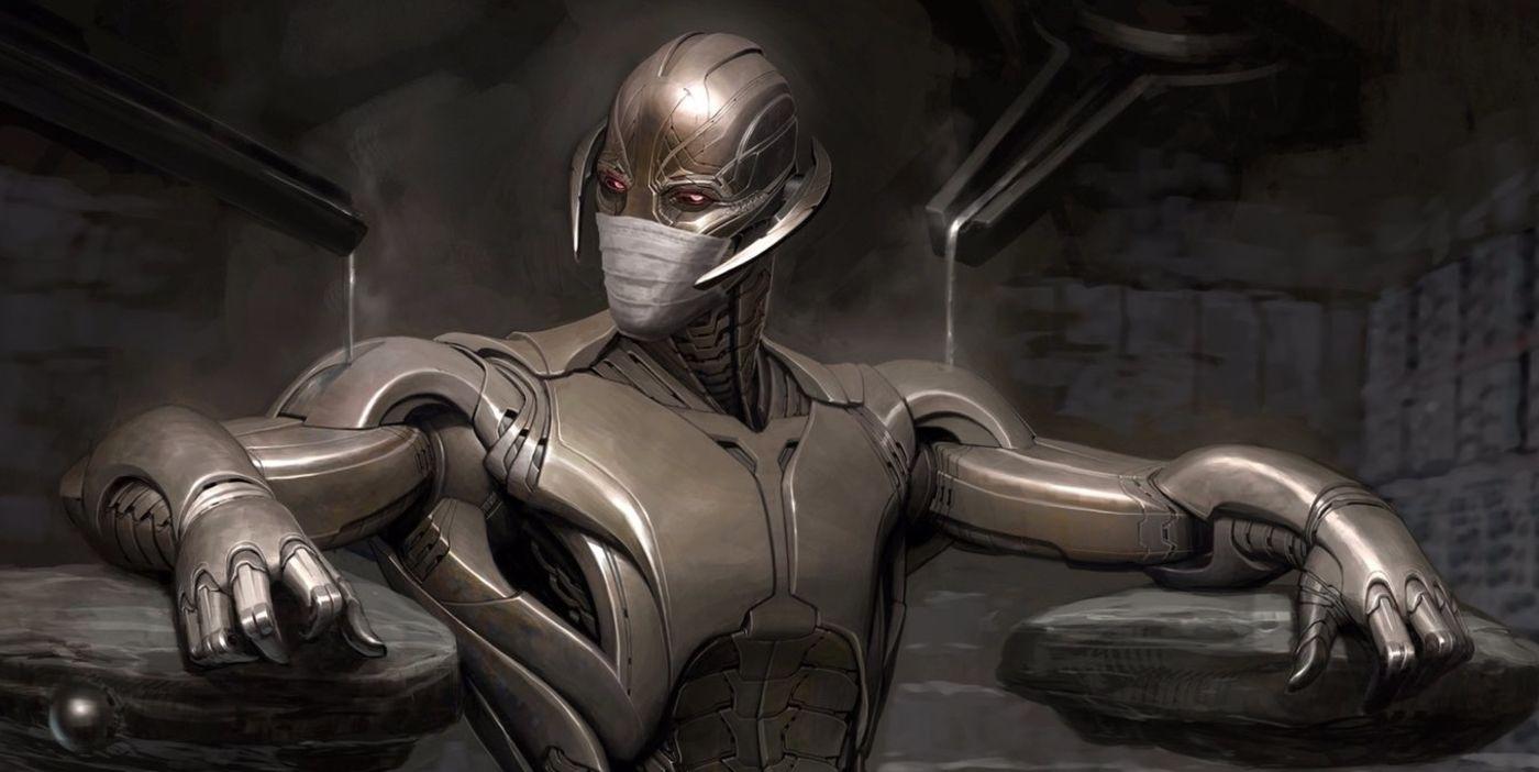 Marvel Studios Artist Draws Ultron Hoarding Toilet Paper
