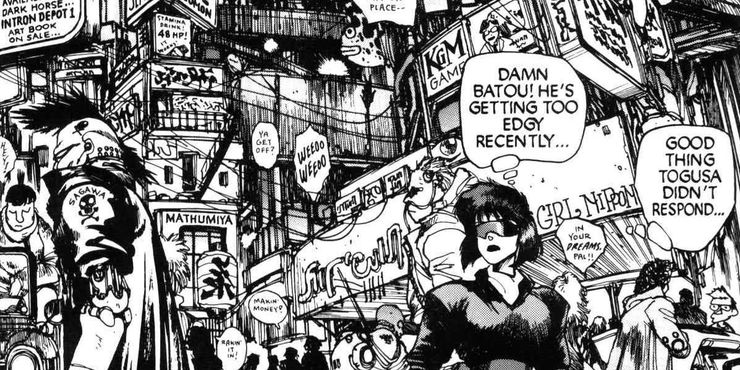 Ghost In The Shell 5 Reasons Why Stand Alone Complex Is Accurate To The Manga 5 Why It Isn T