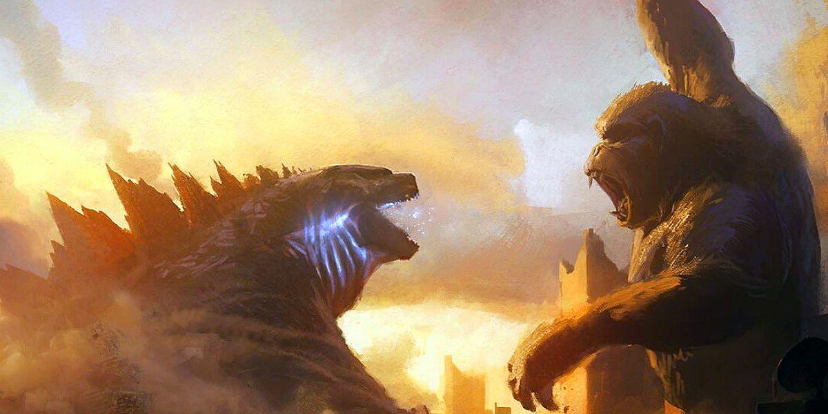 Godzilla vs Kong Clip Hurls Titans Into Monstrous Confrontation